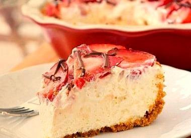 Strawberry, Cake, Cheesecake