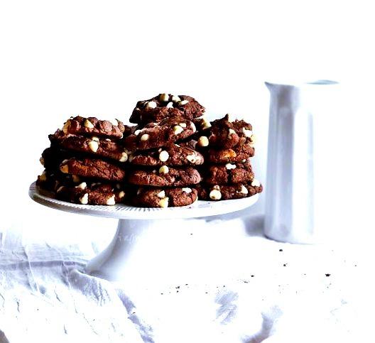 Triple Chocolate Devils Food Cookies