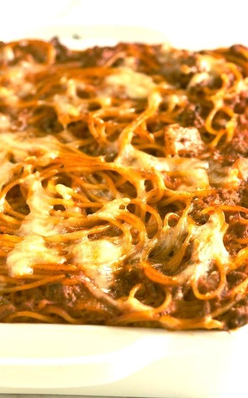 Recipe: Baked Spaghetti