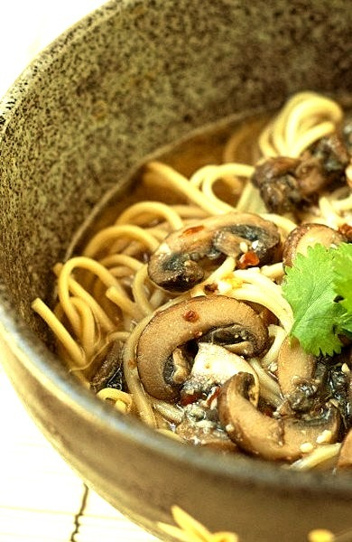 Spicy Mushroom Miso Ramen Recipe Notes