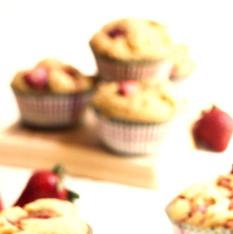 Strawberry Muffins by Allyson Kramer