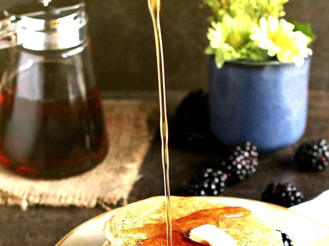 Vegan Whole Wheat Pancakes (recipe via theppk.com)