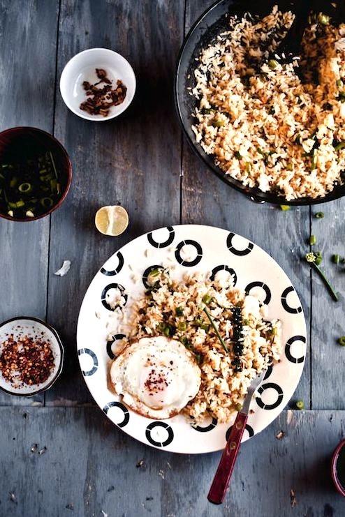 Garlic & Fresh Peppercorn Fried Rice Playful Cooking