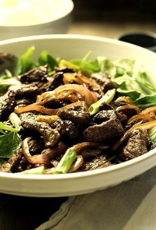 Shaking Beef Vietnamese Stir Fry