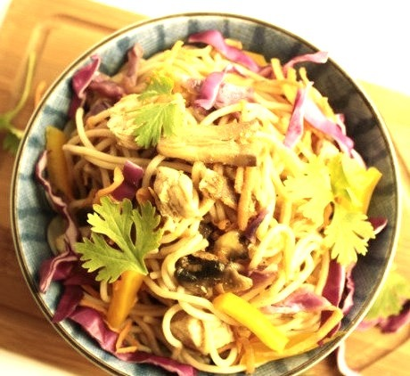 A delicious, healthy and quick take on the ever famous Chicken Chow Mein. Ready in just under 30 minutes.